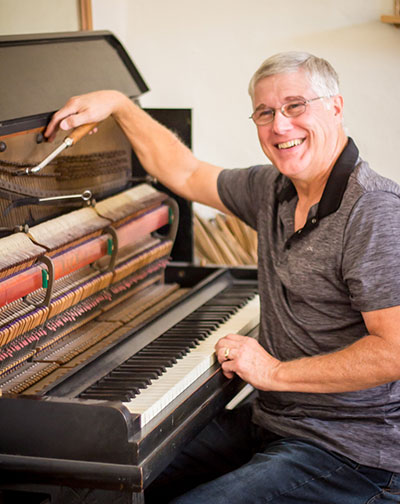 Greg at D & D Piano Service - Tucson Piano Tuning